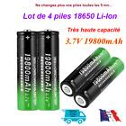 18650 pour accessoires.Pile batterie rechargeable. Haute capacité 19800 mAh 3,7V