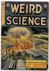 WEIRD SCIENCE #18 WALLY WOOD WILLIAMSON/KRENKEL KAMEN E.C. EC BRADBURY adapt.