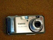 Canon PowerShot A460 5.0MP Digital Camera - Silver
