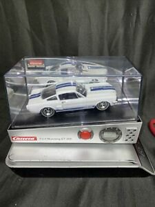 Carrera Sound Of Motors 66' Ford Mustang GT 350 Alarm clock Pre-owned.
