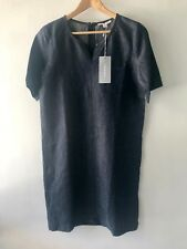 [CR LOVE] SZ 8 NEW! [TRENERY BY COUNTRY ROAD] WOVEN INDIGO DRESS XS