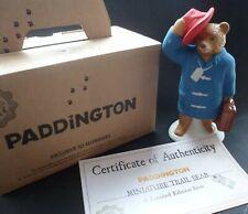Rare Wade Paddington Trail Bear - by Michael Bond Ltd Ed (Boxed/Certificate).