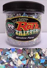 Lil Daddy Roth Metal Flake Window Pane trippin 2oz Jar Hot Rod Custom Chunky