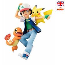 Pokemon Action Figures Ash Ketchum Misty Pikachu Charmander Psyduck Togepi Toys