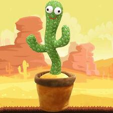 Elektronischer tanzender Kaktus Plüschtier Puppen Tänzer Shake mit dem