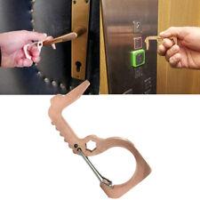 Portable Hygiene Hand Antimicrobial Brass EDC Door Opener Elevator Handle Key DO
