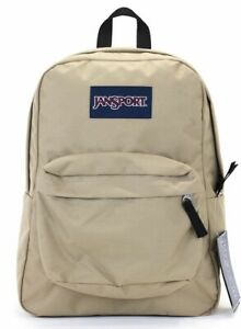 Jansport Superbreak Mens & Womens Backpacks Rucksack - Light Brown