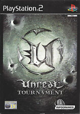 UNREAL TOURNAMENT for Playstation 2 PS2 - with box & manual - PAL
