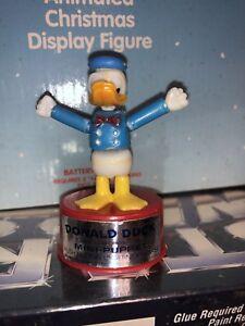 Vintage Walt Disney Push Puppet Donald Duck Mt Case Fresh