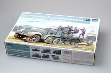Trumpeter 1/35 01523 Flakvierling 38 Sd.Kfz.7/1 Early Version