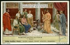 Oracle At Delphi Greek Myths Gods History 50 Y/O Trade Ad Card