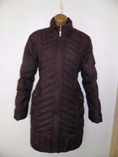 M&S Per Una Purple Plum Padded Duck Down & Feather Coat Jacket size medium ()