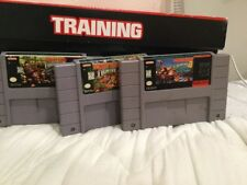 Donkey Kong Country Trilogy SUPER NINTENDO SNES Diddy Dixie Retro Cart Racing