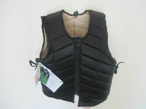 ADULT LARGE HORSE RIDING BODY PROTECTOR WITH ADJUSTABLE SIDE LACES