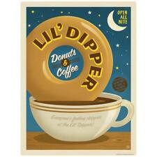 Lil Dipper Donut Coffee Shop Decal Peel and Stick Decor