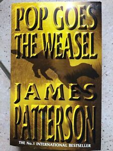 """James Patterson """"Pop goes the Weasel"""" Taschenbuch englisch"""