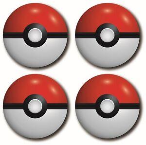 Pokémon Ball 4 Piece Coaster Set