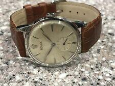 Vintage Ss Rolex Referenz 8896 Manuell Wind Armbanduhr