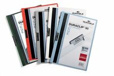Durable Duraclip 30 - A4 Clip File 3mm  - Assorted Colours - Pack of 25