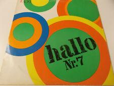 52124 - HALLO NR. 7 - 1972 AMIGA VINYL LP (8 55 337)