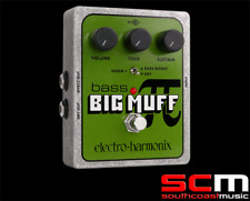 Electro Harmonix Bass Big Muff Pi Distortion Sustain Pedal FX Effects Guitar
