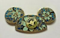 Disney Pin Badge Mickey Mouse Ear Hat - Hibiscus