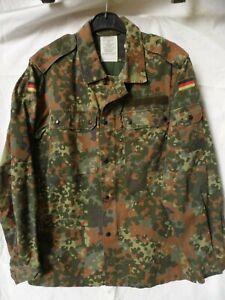 GEN. GERMAN ARMY ISSUE FLECKTARN CAMOUFLAGE COMBAT LIGHTWEIGHT JACKET/SHIRT