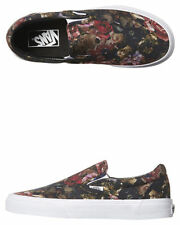 Canvas Slip On Floral Shoes for Women