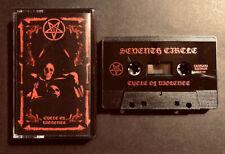 SEVENTH CIRCLE: Cycle Of Violence Cassette US Doom Sludge Dot(.) Godflesh Winter