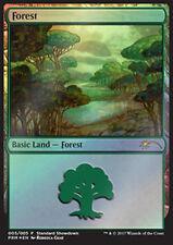 MTG FOREST FOIL EXC - FORESTA SSP - STANDARD SHOWDOWN XLN PROMO - SSP