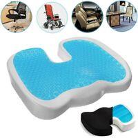Gel Seat Cushion Breathable Honeycomb Non-Slip Relieves Sciatica Gel Flex Pillow