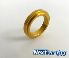 Aluminium Kart Wheel Spacers 17mm x 5mm - Pack of 1 - Gold - Highest Quality