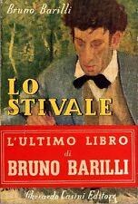 BARILLI Bruno (Fano 1880 - Roma 1952), Lo stivale
