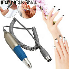 Electric Nail Art Drill File Bit Replacement Handpiece Pen Manicure Machine NEW