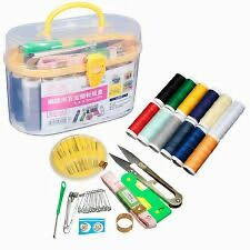 66 pcs Sewing Kit Needle Thread Threader Scissor Tools Home travel hobby Set