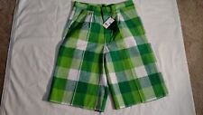 DIO MODA AUTHENTIC COLLECTION MEN'S CASUAL DRESS PLAID SHORTS - SIZE 36