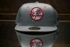 NEW ERA MLB New York Yankees 59FIFTY Cooperstown Fitted Hat Cap retro logo 7 1/8