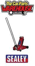 Sealey Trolley Jack 3tonne SUPER ROCKET LIFT Fast lift 3 ton 3015CXD