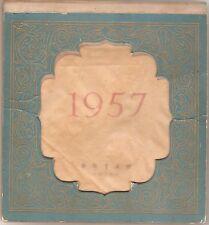 China 1957 very rare  Desktop calendar Calendars many views of China