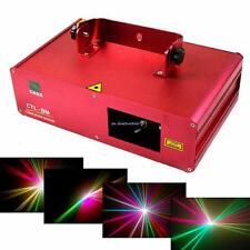 310mW Bleu Vert Rouge lumière LED DMX Éclairage Laser Motif Stade DJ Disco Show