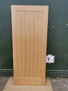 PFINTOSUF33-FD Jewsons XL Joinery Prefinished Oak Suffolk 2'9 Int. Fire Door