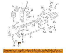 HONDA OEM Exhaust-Front Pipe Bolt 18231SNAA00