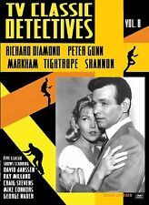 TV CLASSIC DETECTIVES Vol 8-  RICHARD DIAMOND - SHANNON - MARKHAM -TIGHTROPE