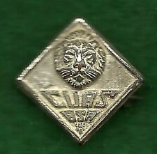 BOY SCOUT WWII II PRESSED MAGNETIC LION PIN - RARE - CUBS BSA NOT CUB SCOUTS