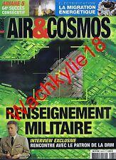 Air & Cosmos n°2451 du 01/05/2015 Renseignement militaire DRM Gomart