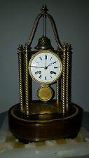 Rare pendule clocks horloge en bronze