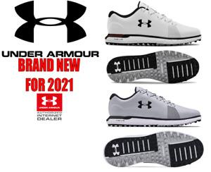Under Armour Mens Hovr Fade SL E Golf Shoes **BRAND NEW FOR 2021**