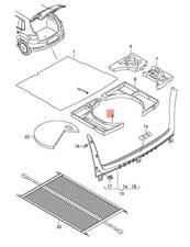 Genuine Filler Piece For Lugg.Comp.Fl. Left VW Golf R32 Gti Rabbit 1K6858857C