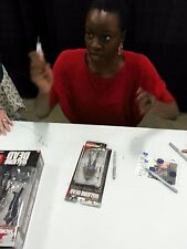 danai gurira signed the walking dead series 3 figure