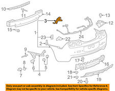 Chevrolet GM OEM 10-13 Camaro REAR BUMPER-Reinforcement Bracket Right 92244076